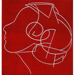 Eliana (en rojo)