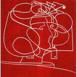 Isadora (en rojo)