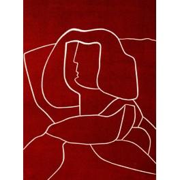 Menina en rojo I