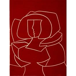 Menina en rojo II