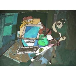 La mesa del ordenador