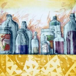 Anaquel II. Nuestra propia química y un frasquito con gotas de rocío (A)