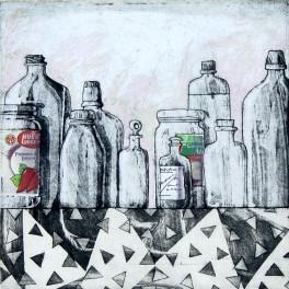 Anaquel II. Nuestra propia química y un frasquito con gotas de rocío (B)