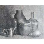 Tetera, limón y otros objetos