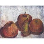 Manzanas y pera