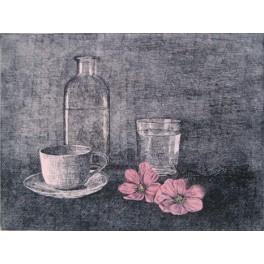 Desayuno con flores