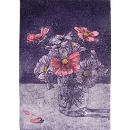 Vaso con flores