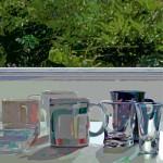 Variaciones sobre unas tazas-Verde