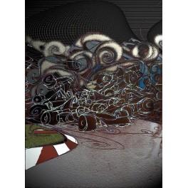 Formula 1-Salida con lluvia