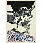 Utagawa Hirosige (Trilogía Homenaje al Ukiyo-e)