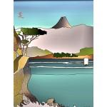 El lago Hakone  (Trilogía del Japón)